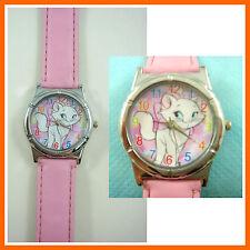 LATEST Marie Cat Kids Girls Ladies Children Pink Wrist Watch Wristwatch