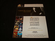 STEVEN SPIELBERG ad JAWS, E.T., Jurassic Park & VANILLA SKY PAUL McCartney