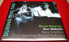 Oscar Peterson - Ben Webster - During This Time  - New & sealed Vinyl 2LP -2014