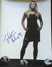 12 OLYMPICS USA HEATHER MITTS AUTOGRAPHED 11x 14 PHOTOGRAPH PSA DNA ITP 3A98785