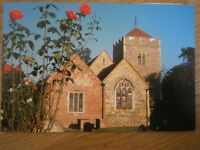 POSTCARD BUCKINGHAMSHIRE STOKE POGES - ST GILES CHURCH