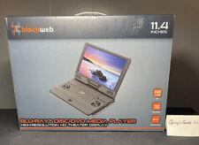 "Blackweb 11.4"" Portable Blu-Ray DVD Player SDVD1183 BWA18AV013 High Resolution"