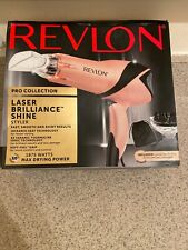 Revlon Pro Collection Laser Brilliance Shine Styler Hair Dryer Ionic Technology