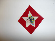 b5715 WW1 US USMC 1-6th Marine Regiment  2nd Division Indian patch mutli R5C