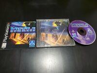 Missile Command (Sony PlayStation 1, 1999)  CIB! TESTED! W/ REGISTRATION!