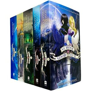 The School for Good and Evil 5 Books Set by Soman Chainani- Age 9-14 - Paperback