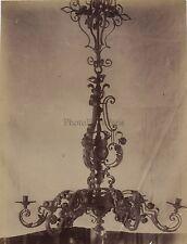 Cluny Lustre Louis XIV Paris France Vintage Albumine ca 1880