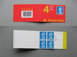 UK GB ENGLAND, booklet MNH, 4x 2nd