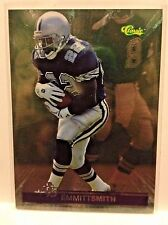1995 CLASSICS FOOTBALL IMAGES 95 #IP5 EMMITT SMITH COWBOYS   WM1