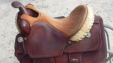 Custom made western saddle