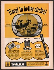 1971 TASCO Omni-View Rifle Scope and Binoculars AD
