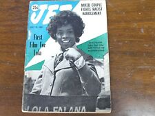 Jet Magazine July 1969 Lola Falana 1st Film / Mixed Couple Fight Race Harassment
