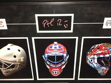 Signed Patrick Roy Mask Collection Masterpiece Auto Signature Montreal Canadiens