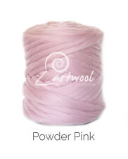 Powder Pink -  1 kg 100% Merino Wool Giant Chunky Yarn Arm Knitting