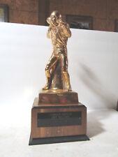 Lionstone 22K Gold Johnny Unitas Hall Of Fame Special Presentation Decanter