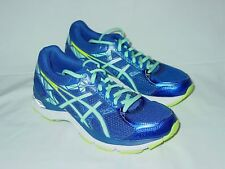 Womens ASICS Gel Exalt 3 Running Training Shoes Sneakers Size 6 Blue To Mint