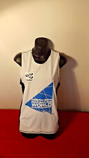 2011 ISAF WORLD SAILING  OFFICIAL TANK TOP AUTOGRAPH TESSA PARKINSON  SIZE M