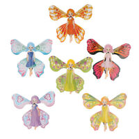 2pcs Kids Magic Butterfly Flying Paper Card Toy Magic Fairy Magic Props Toys Hu