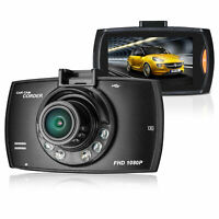 """HD 1080P 170° Angle Car Van Dash Cam DVR Recorder 2.4"""" With Video LCD Camer E6K1"""