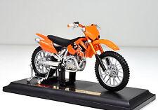 KTM 525 SX scala 1:18 arancione Modello Motocicletta von Maisto