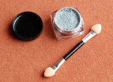 2 g Mirror Chrome Puder in Silber  Nagel Pigment und Applicator