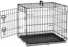 Indoor Bunny Rabbit Cage Crate Kennel Small Pet Dog Single Door Metal Portable