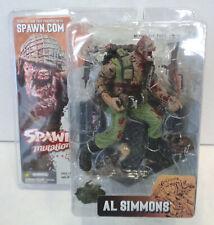 Spawn Mutations: Al Simmons Figure (2003) McFarlane Series 23 No Helmet Variant
