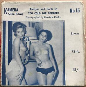 Amateur Models Too Cold For Comfort - Annlyse & Dorte 8mm 75ft Rare