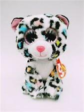 TY BEANIE BOO BOOS TILLEY THE LEOPARD CLAIRES EXCLUSIVE MWMT 6 INCHES  IH
