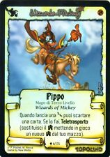WIZARDS OF MICKEY Pippo 6/115 FOIL RARE ITA NEAR MINT