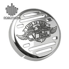 Chrome Eagle Round Horn Cover for Yamaha V-Star 650 1100 Classic Custom HOT