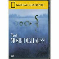 Mostri degli Abissi - Is it real? - n. 53 - National Geographic - DVD DL007212