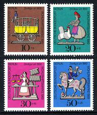 Germany-Berlin 9NB65-9NB68, MNH. Tin Toys:Coach,Feeding chickens,Horseback, 1969
