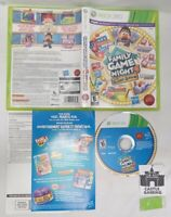Family Game Night 4 Game Show Xbox 360 TESTED CIB COMPLETE FAST TRACKED SHIPPING