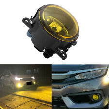 1pcs For Acura Honda Ford Nissan Yellow w/ H11 Bulbs Fog Lights Replacement