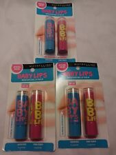 MAYBELLINE BABY LIPS 6 PACK QUENCHED & PINK PUNCH MOISTURIZING LIP BALM SPF 20
