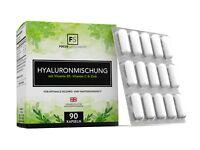 Acide Hyaluronique (350mg) 90 Gélules  |  Contient de la Vitamine C