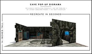 "Extreme-Sets Cave Pop-Up Diorama 1/12 Scale for 6""-7"" Action Figures"