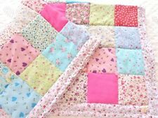 Patchwork Quilt Kit Complete Quilting Set Wadding Fabrics Pins All Included!