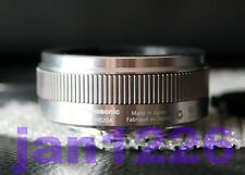 New Panasonic Lumix G 20mm  F1.7 II ASPH. Lens *** SILVER retail seal box
