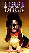 FIRST DOGS (of the WHITE HOUSE) - DISCOVERY CHANNEL- VHS CASSETTE - 1999 - 52 mn
