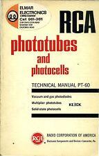 RCA Phototubes and Photocells * PT-60 * 1963 * CDROM * PDF