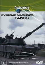 Extreme Machines - Tanks (DVD, 2003)