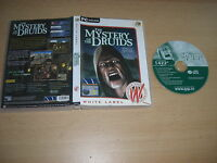 THE MYSTERY OF THE DRUIDS - Special Edition Pc DVD Rom WL FAST POST