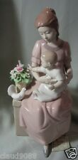 "NADAL PORCELAIN MADE IN SPAIN ""MOTHERHOOD BABY&MOTHER"" N132410E MINT & REDUCED"