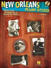 New Orleans Piano Styles Guide To Keyboard Licks Crescent City Greats Music Book