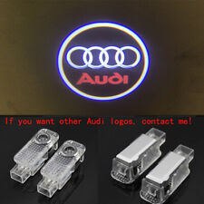 2X Audi HD Logo LED Laser Projector Car Door Welcome Ghost Courtesy Shadow Light