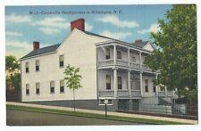 Vintage Postcard Cornwallis Headquarters in Wilmington, N.C. Unposted