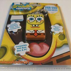 2 Gb Usb Sponge Bob Squarepants Flash Drive