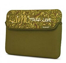 """MOBILE EDGE SUMO  8.9"""" GRAFFITI KINDLE DX NETBOOK SLEEVE FITS ALL IPADS GREEN"""